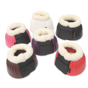gummiboots med fleece