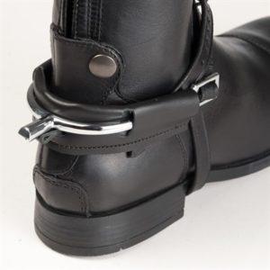 sporrskydd läder